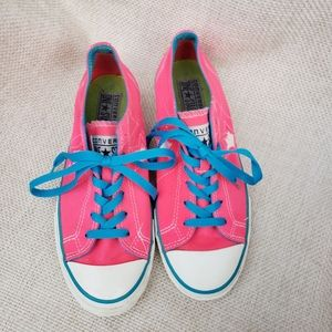 Converse One Star *RARE* Neon Pink & Blue